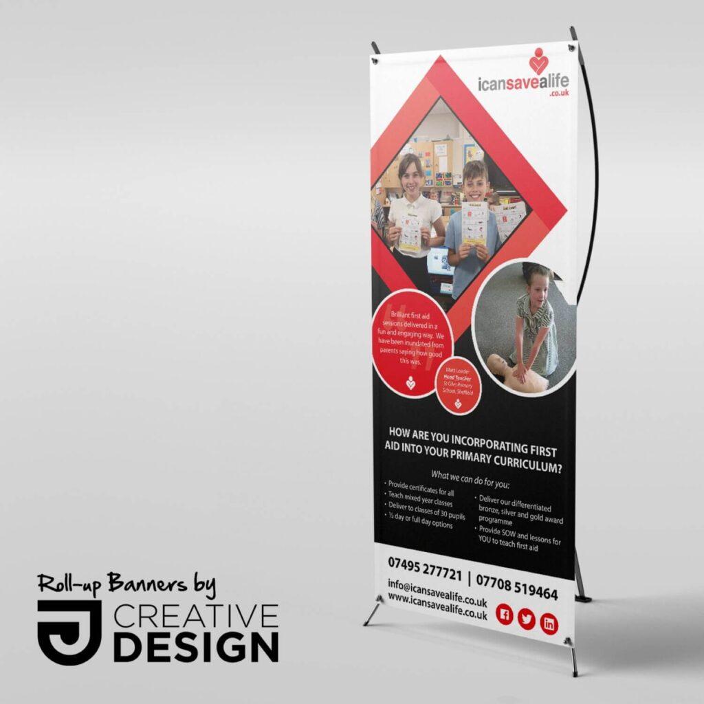 JJ Creative Design Banner Doncaster Roll-Up